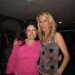 "Rachel Galvin & Keri Lurtz on set of ""Lost Angel"""