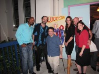 Lucky Streak cast & crew came out for screening