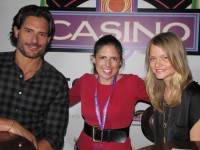 "Rachel meets ""True Blood"" cast members"