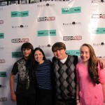 Rachel Galvin on red carpet at &#8220;Caught in the Middle&#8221; screening